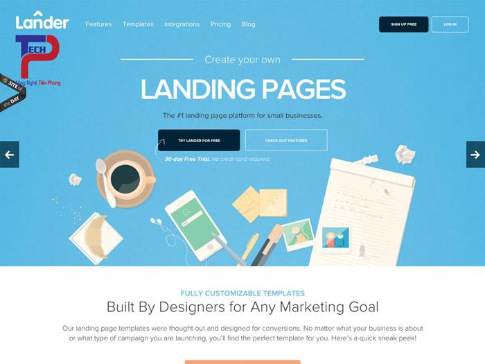 thiết kế website landing page chuyên nghiệp chuẩn SEO