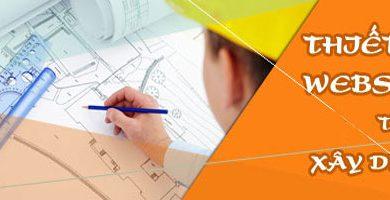 thiết kế website thi công ngành xây dựng chuẩn SEO