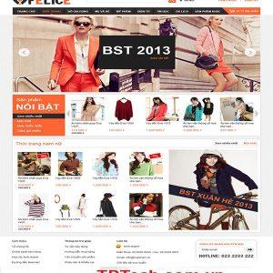 Thiết Kế Website Bán Quần áo Thời Trang Hiện đại
