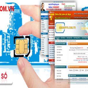 Thiết Kế Website Bán Sim Online Số đẹp Chuyên Nghiệp