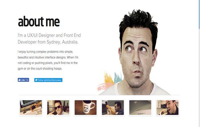 Thiết kế website cá nhân chuyên nghiệp