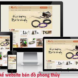 Thiết Kế Website Bán đồ Phong Thủy Chuyên Nghiệp Chuẩn SEO