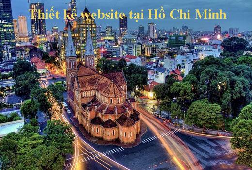 Thiết Kế Website Tại Hồ Chí Minh, Sài Gòn Với Giao Diện đẹp