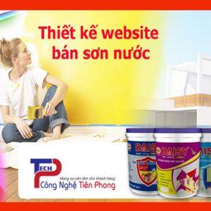Thiết Kế Website Bán Sơn đẹp Theo Yêu Cầu Chuyên Nghiệp