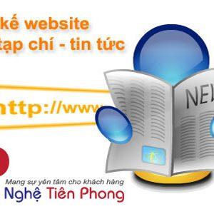Thiết Kế Website Tin Tức Uy Tín Chuẩn SEO