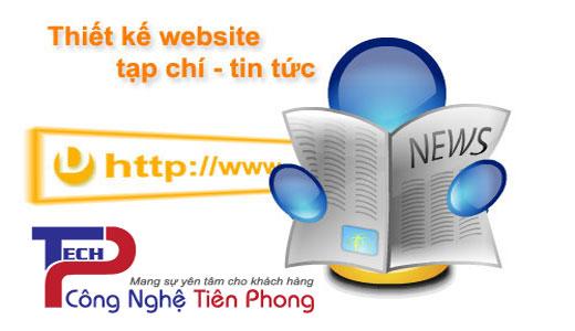Thiết Kế Website Tin Tức, Tạp Chí, Báo điện Tử Uy Tín Chuyên Nghiệp Chuẩn SEO