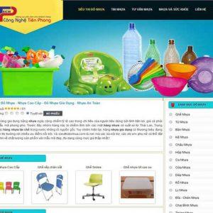 Thiết Kế Website Bán đồ Nhựa Chuyên Nghiệp