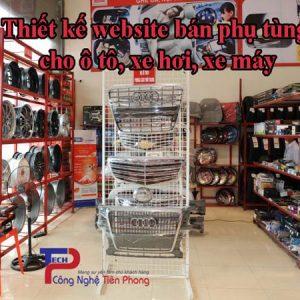 Thiết Kế Website Bán Phụ Tùng Xe Hơi ô Tô Xe Máy Chuẩn SEO