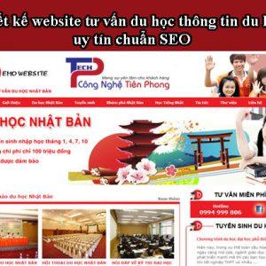 Thiết Kế Website Tư Vấn Du Học Chuyên Nghiệp Và Uy Tín