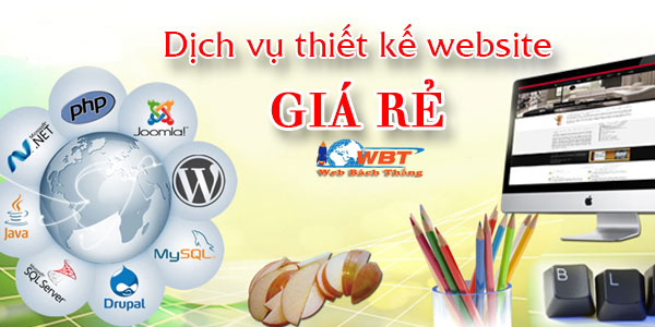 Dịch vụ thiết kế website giá rẻ chuyên nghiệp