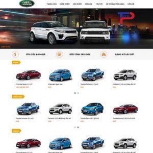 Thiết Kế Web Bán Hàng ôtô Chuyên Nghiệp Tạo Niềm Tin Khách Hàng