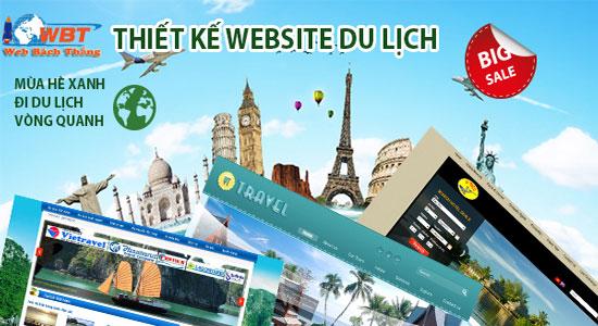 thiết kế web du lịch chuyên nghiệp chuẩn SEO