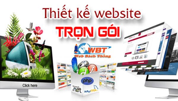 Thiết kế web trọn gói chuẩn SEO theo yêu cầu