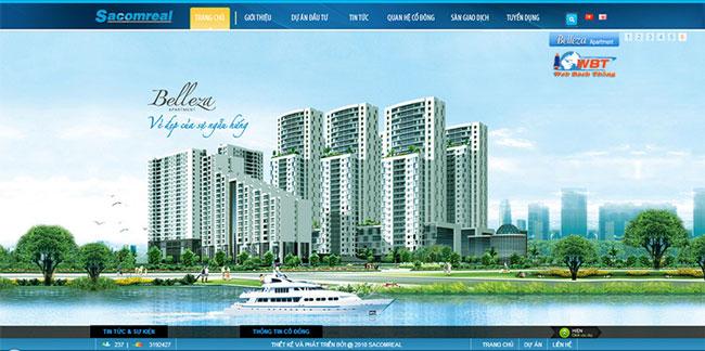 Thiết kế website bất động sản hiệu quả