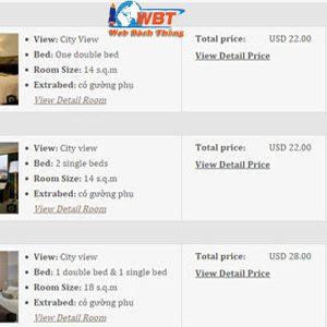 Thiết Kế Website Khách Sạn Chất Lượng đạt Tiêu Chuẩn