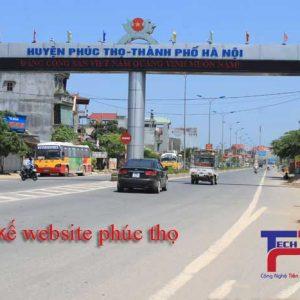 Thiết Kế Website Tại Huyện Phúc Thọ Chuyên Nghiệp