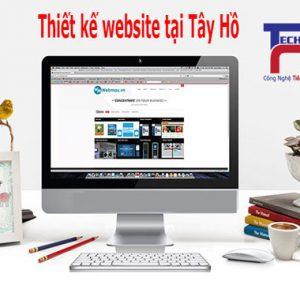 Thiết Kế Website Tại Quận Tây Hồ Chuyên Nghiệp Chuẩn SEO
