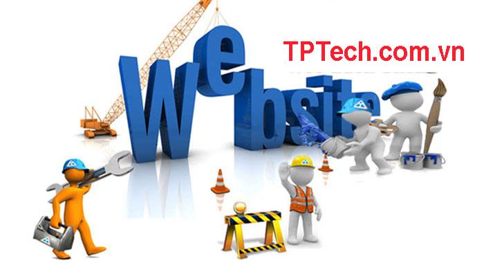 Dịch vụ sửa chữa website chuyên nghiệp của TPTech