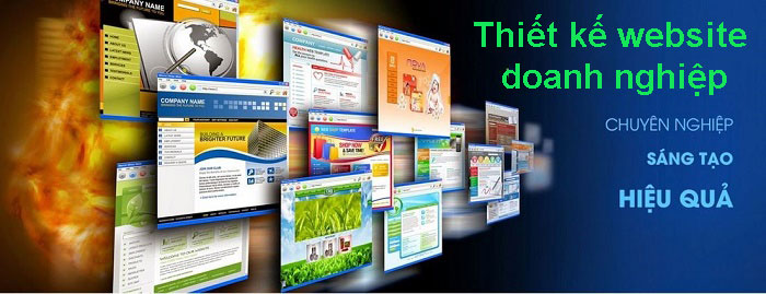 Thiết kế website doanh nghiệp cao cấp uy tín