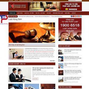 Thiết Kế Website Công Ty Luật Uy Tín Chuẩn SEO