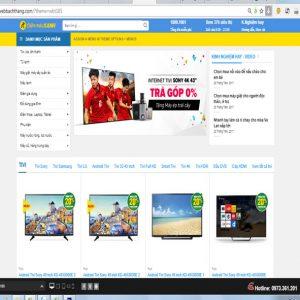 Thiết Kế Website Bán điện Máy Online
