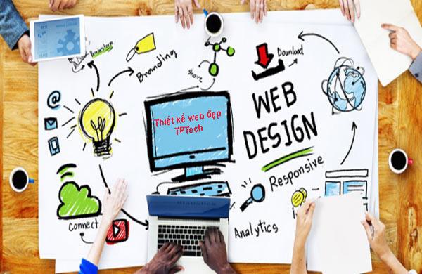 Thiết kế website đẹp bắt mắt chuyên nghiệp