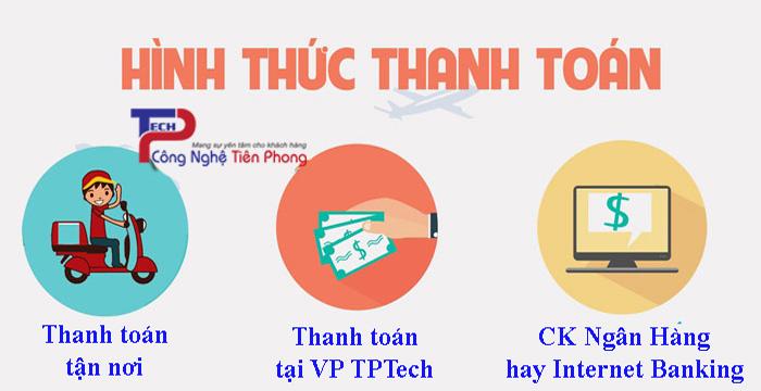 Quy định & hình thức thanh toán tại TPTech