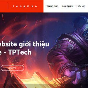 Thiết Kế Website Giới Thiệu Game Online Trò Chơi điện Tử Chất Lượng