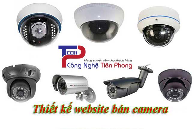 Thiết kế website bán camera thiết bị giám sát chuyên nghiệp