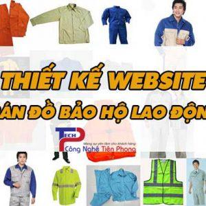 Thiết Kế Website Bán đồ Bảo Hộ Lao động Chuẩn SEO