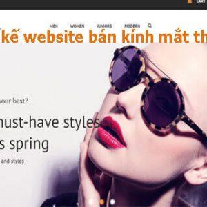 Thiết Kế Website Bán Kính Mắt đẹp Chuẩn SEO