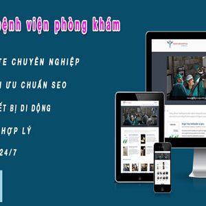 Thiết Kế Website Bệnh Viện Chuyên Nghiệp Uy Tín