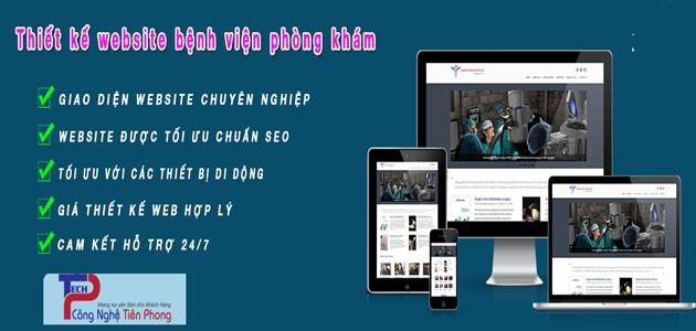 Thiết Kế Website Bệnh Viện Y Tế Uy Tín Chuyên Nghiệp Chất Lượng