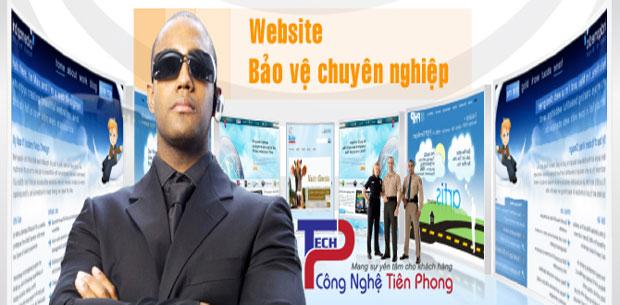 Thiết kế website dịch vụ bảo vệ vệ sĩ chuyên nghiệp