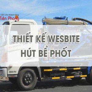 Thiết Kế Website Dịch Vụ Hút Bể Phốt Thông Tắc Cống Chuyên Nghiệp