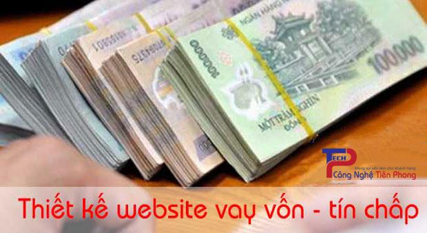 Thiết kế website vay vốn tín chấp tín dụng