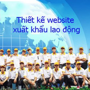 Thiết Kế Website Xuất Khẩu Lao động Chuẩn SEO