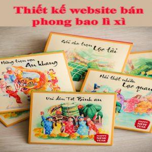 Thiết Kế Website Bán Phong Bao Lì Xì Chuyên Nghiệp Chuẩn SEO