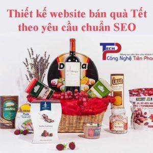 Thiết Kế Website Bán Quà Tết Theo Yêu Cầu
