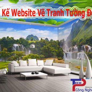 Thiết Kế Website Dịch Vụ Vẽ Tranh Tường đẹp Theo Yêu Cầu