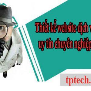 Thiết Kế Website Dịch Vụ Thám Tử Tư Uy Tín