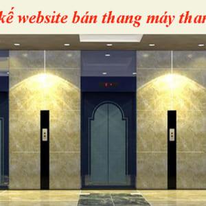 Thiết Kế Website Bán Thang Máy Thang Cuốn