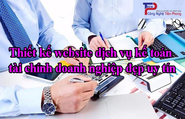 Thiết kế website dịch vụ kế toán thuế trung tâm đào tạo kế toán