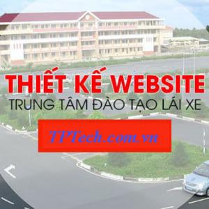 Thiết Kế Website Làm Bằng Lái Xe Uy Tín Và Chuyên Nghiệp