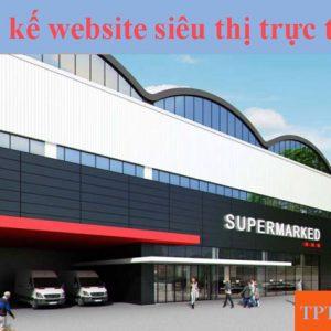 Thiết Kế Website Siêu Thị Trực Tuyến