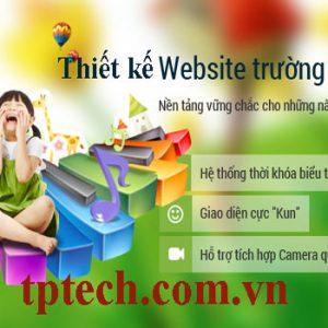 Thiết Kế Website Trường Mầm Non Chuyên Nghiệp Và Uy Tín