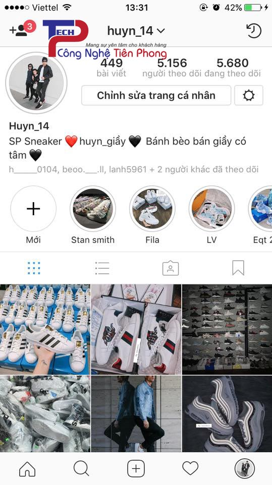 Tăng follow trên Instagram
