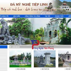 Thiết Kế Website Bán đá Mỹ Nghệ