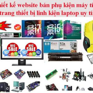 Thiết Kế Website Bán Phụ Kiện Máy Tính Laptop Uy Tín Giá Rẻ