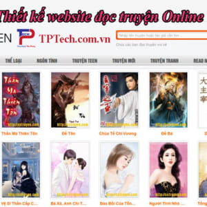 Thiết Kế Website đọc Truyện Online